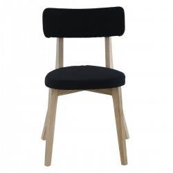 ALISON Black Dining Chair