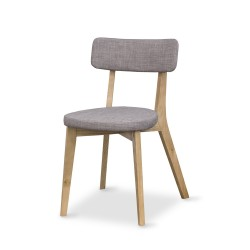ALISON Light Grey Dining Chair