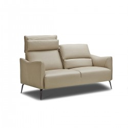KATE 3-Seater Cream Leather...