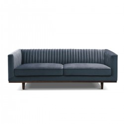 BORDEAUX 3-Seater Blue Grey...