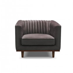 BORDEAUX 1-Seater Grey