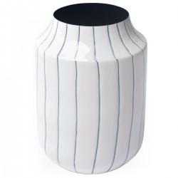FYNN Vase White and Blue...