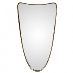 DARWIN Mirror Brass Antic...