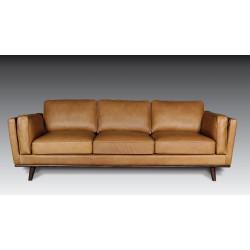 ETOILE 3-Seater Leather Sofa