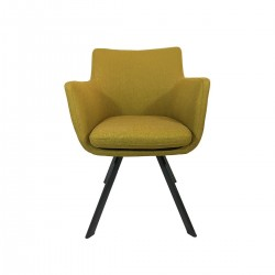 CARL Armchair Yellow