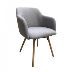MAY Armchair Light Grey
