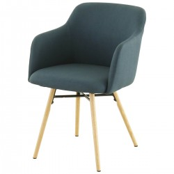 MAY Armchair Dark Blue