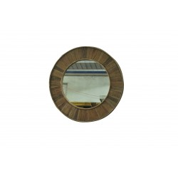 ANTIQUE Recycle Elm Mirror