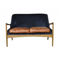 NICO 2-Seater Leather Sofa