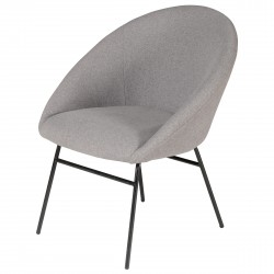 AXEL Armchair Light Grey