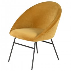 AXEL Armchair Yellow