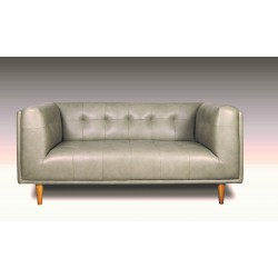 BARTON 2-Seater Leather Sofa