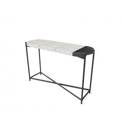 DUO Console Table Terrazzo...
