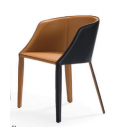 AMBER Light Brown Armchair