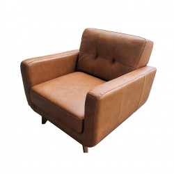 CASSIE 1 Seater Leathe Sofa
