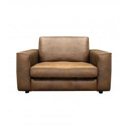 CELIA 1-Seater Leather Sofa