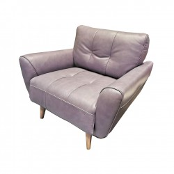 LANCE 1-Seater Leather Sofa