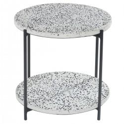 ALDO Terrazzo Side Table