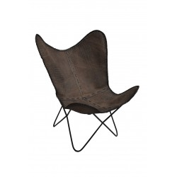 BUTTERFLY Leather Chair...