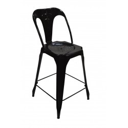 INDUSTRIAL Bar Chair Glossy...