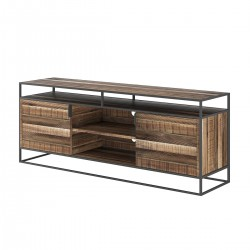 MAGIC TV Stand Wooden Top