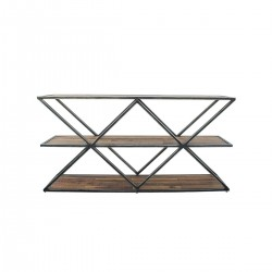 CUSCO Console 3 Shelves 140cm